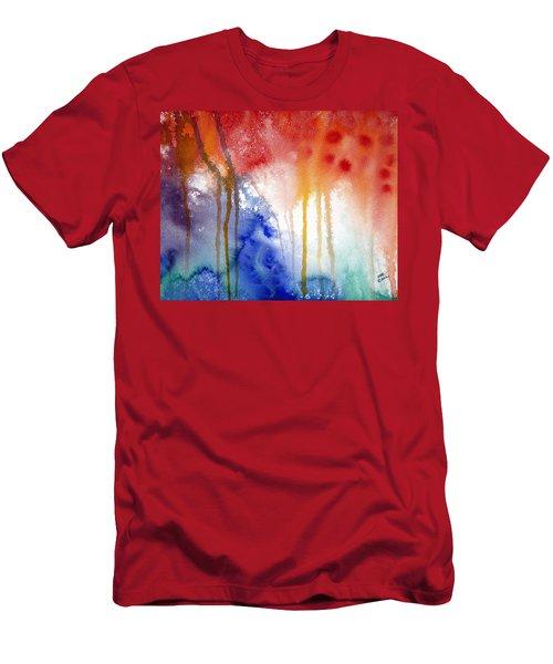 Waves Of Emotion Men's T-Shirt (Athletic Fit)