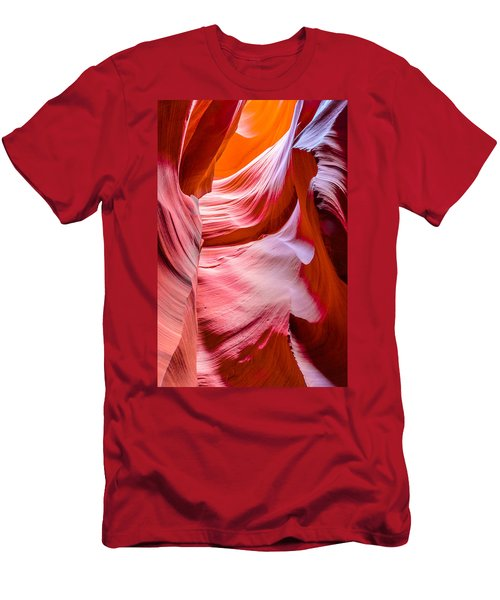 Waves Of Redrock Men's T-Shirt (Athletic Fit)