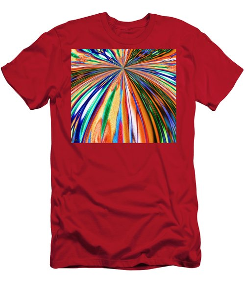 Where It All Began Abstract Men's T-Shirt (Athletic Fit)