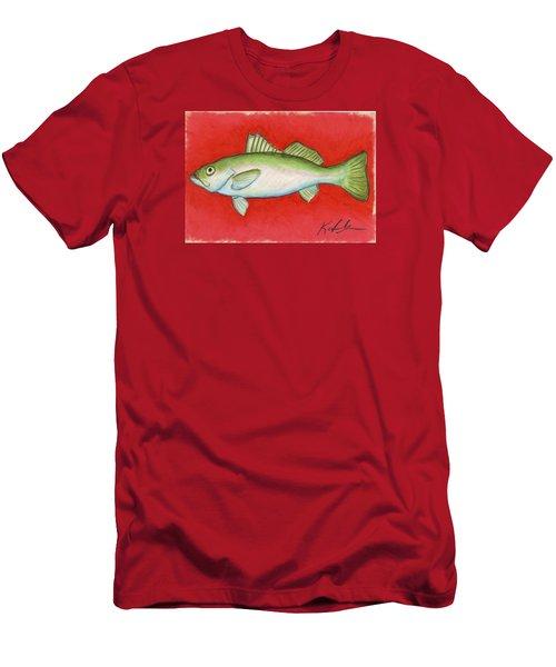 White Trout Men's T-Shirt (Athletic Fit)