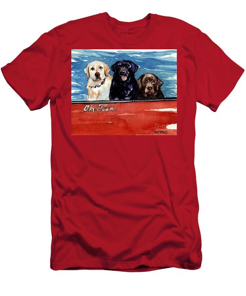 Whole Crew Men's T-Shirt (Slim Fit) by Molly Poole