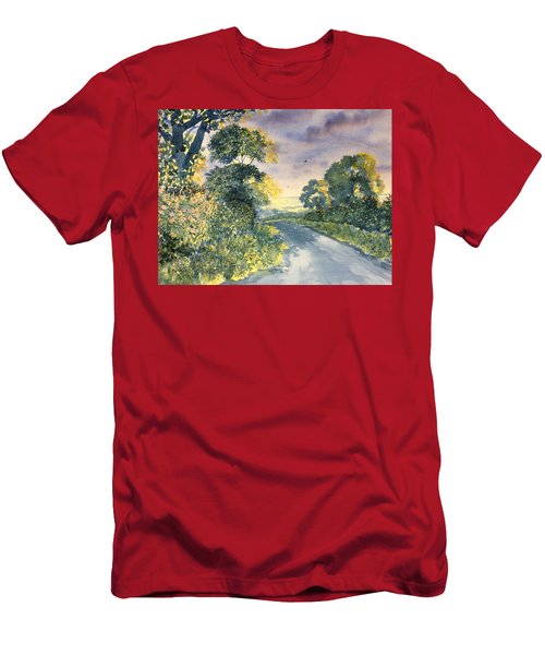 Wild Roses On The Wolds Men's T-Shirt (Athletic Fit)