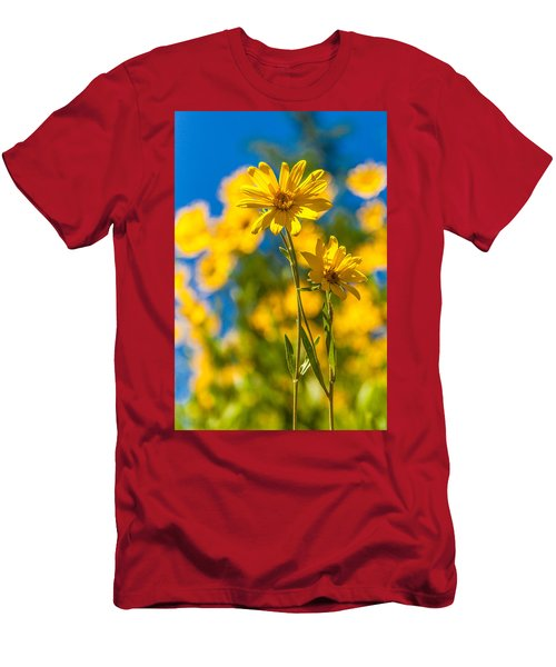 Wildflowers Standing Out Men's T-Shirt (Athletic Fit)