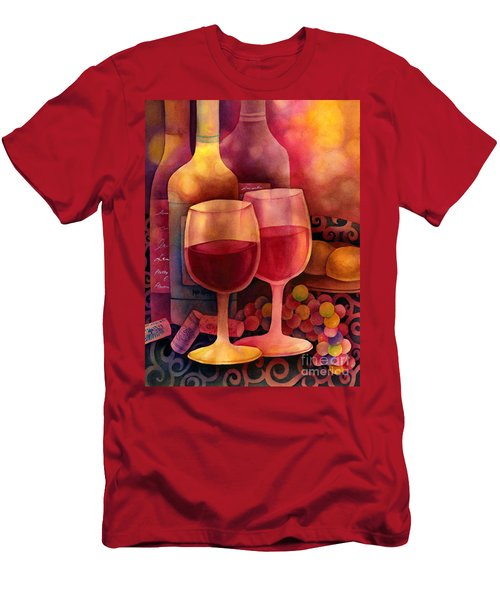 Wine For Two Men's T-Shirt (Athletic Fit)