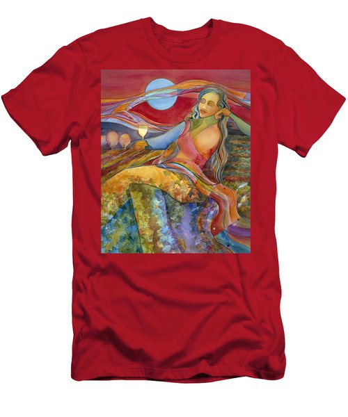 Wine Woman And Song Men's T-Shirt (Athletic Fit)