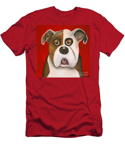 Winston The Dog Men's T-Shirt (Athletic Fit)