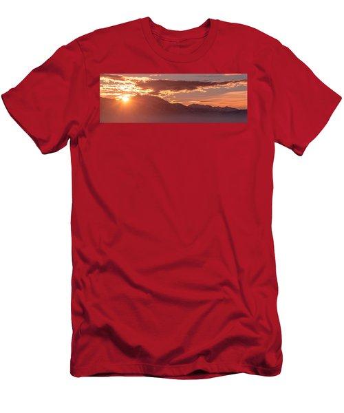 Winter Wasatch Daybreak Men's T-Shirt (Athletic Fit)