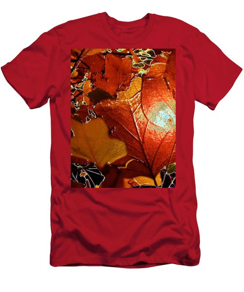 winters autumn in Pasadena Men's T-Shirt (Athletic Fit)
