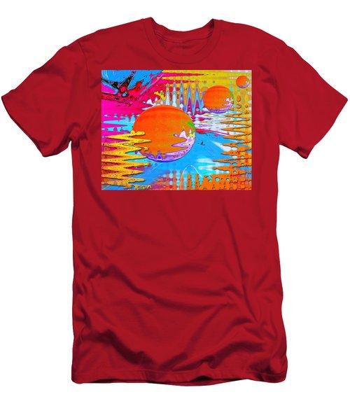 Worlds Apart Men's T-Shirt (Athletic Fit)