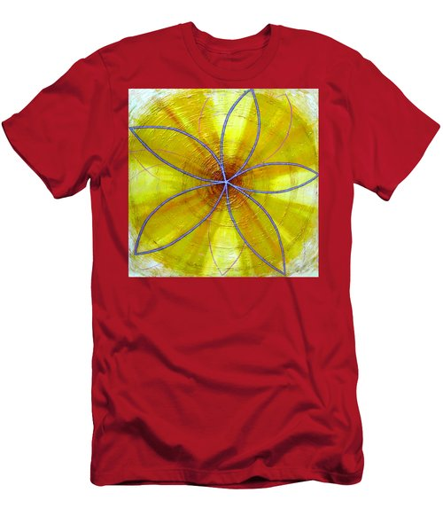Yellow Chakra Men's T-Shirt (Athletic Fit)