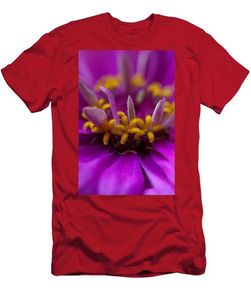 Yellow Stars Men's T-Shirt (Athletic Fit)