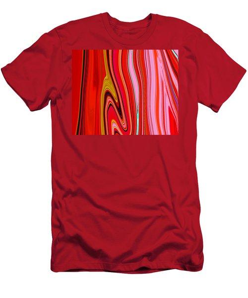 Yipes Stripes  C2014 Men's T-Shirt (Athletic Fit)