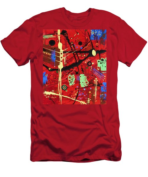 Dia De Muertos Men's T-Shirt (Slim Fit)