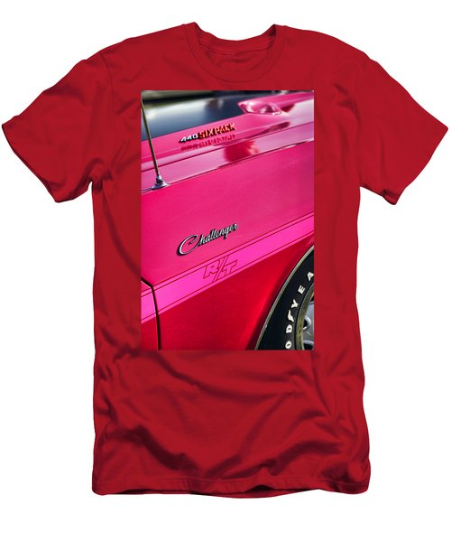 1970 Dodge Challenger Rt 440 Six Pack - Tickled Pink Men's T-Shirt (Athletic Fit)