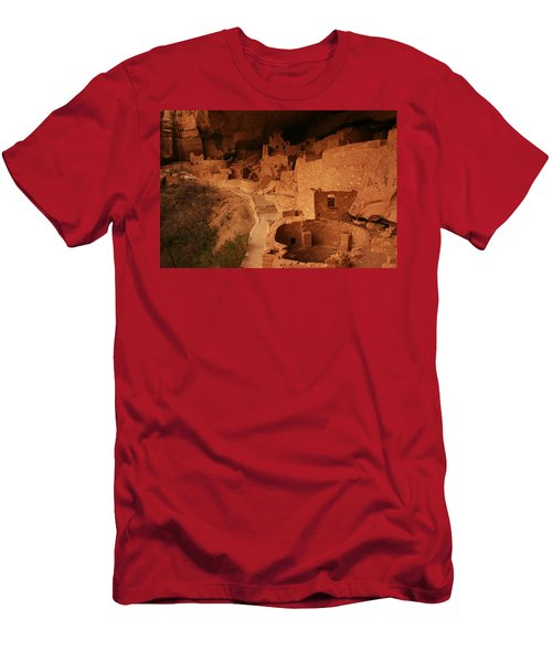 Cliff Palace Mesa Verde National Park Men's T-Shirt (Athletic Fit)