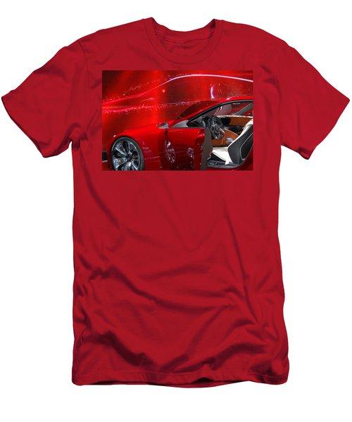 2013 Lexus L F - L C Men's T-Shirt (Athletic Fit)