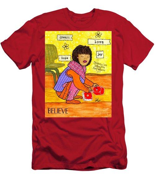 A Prayer That Dreams Come True Men's T-Shirt (Athletic Fit)
