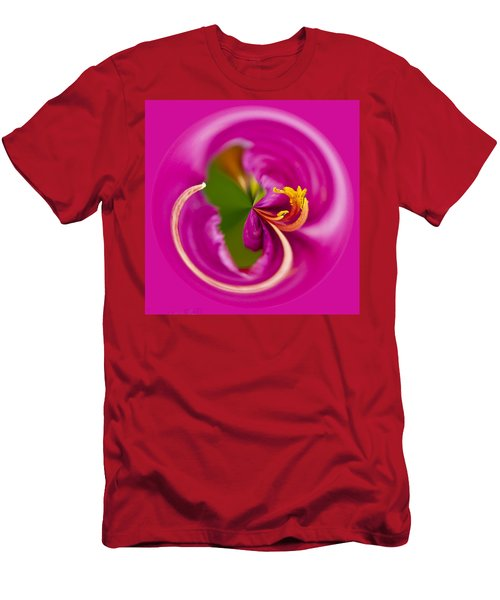 Asiatic Lily Orb Men's T-Shirt (Athletic Fit)