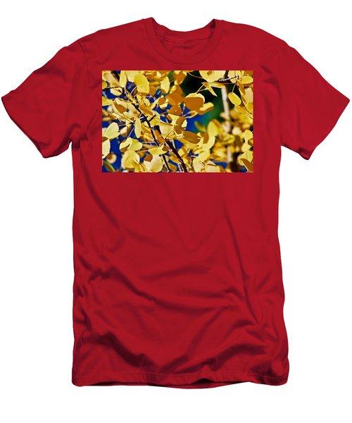 Aspen Gold Medallions Men's T-Shirt (Athletic Fit)