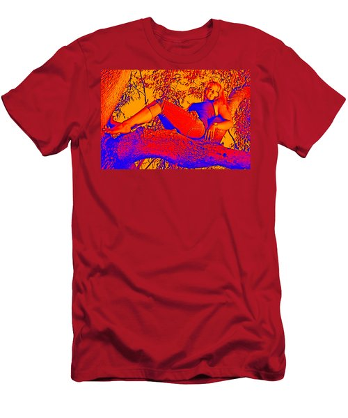 Beauty In A Tree Men's T-Shirt (Athletic Fit)