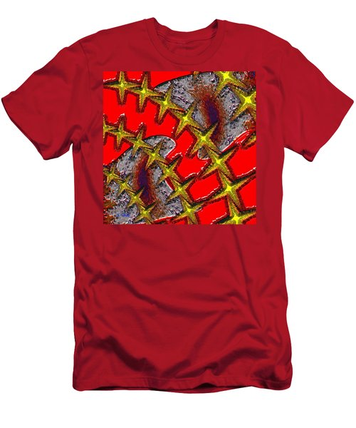 Blood On The Wire Men's T-Shirt (Athletic Fit)