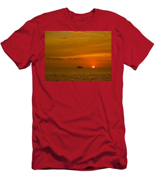 Men's T-Shirt (Slim Fit) featuring the photograph Costa Rica Sunset by Eric Tressler
