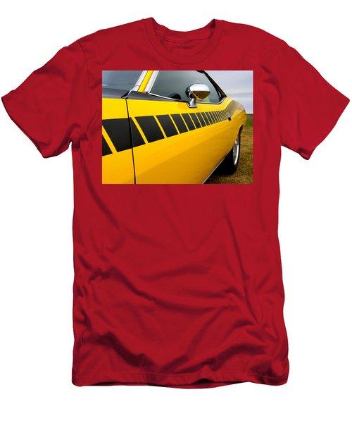 Cuda Stripes Men's T-Shirt (Athletic Fit)