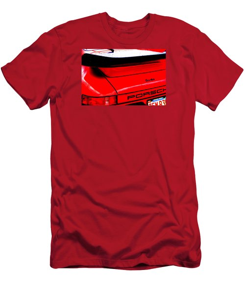 Men's T-Shirt (Slim Fit) featuring the photograph Dead Red Turbo by John Schneider