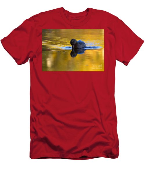 Dipping In Gold Men's T-Shirt (Athletic Fit)