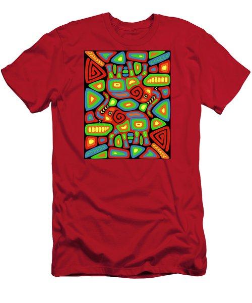 Elephant Mola Men's T-Shirt (Athletic Fit)