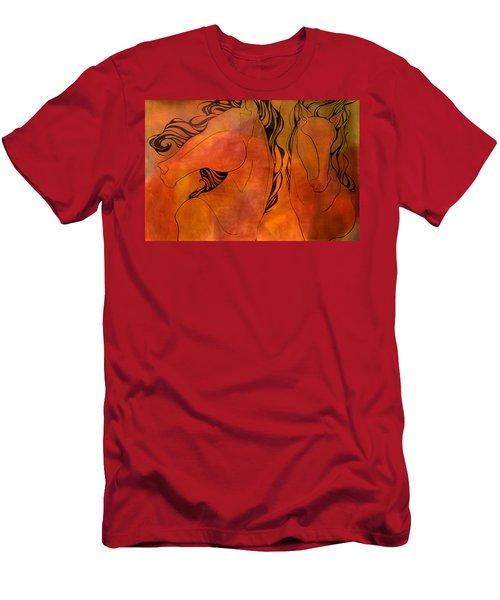 En Gallop Men's T-Shirt (Athletic Fit)