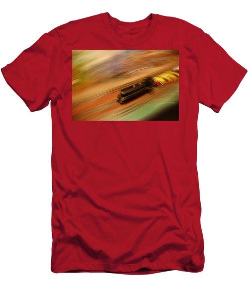 Fast Train Set Men's T-Shirt (Athletic Fit)