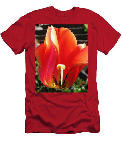 Flame Men's T-Shirt (Slim Fit) by Rory Sagner