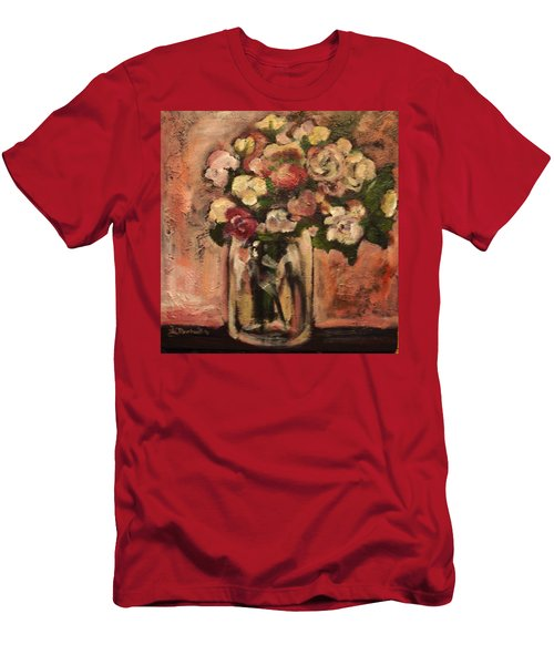 Flowers For Mom Men's T-Shirt (Athletic Fit)