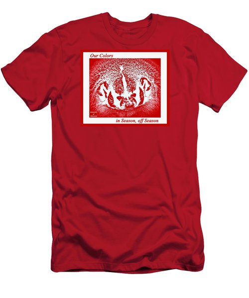 Go Go Badgers Men's T-Shirt (Athletic Fit)