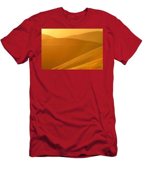 Gold Men's T-Shirt (Athletic Fit)