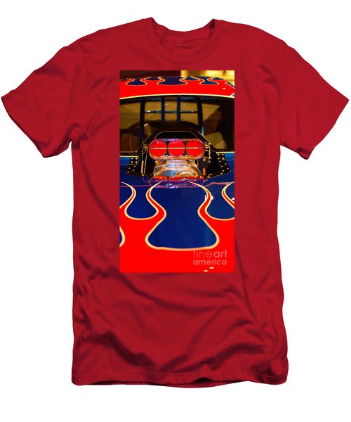 Hot Rod 1 Men's T-Shirt (Slim Fit) by Micah May