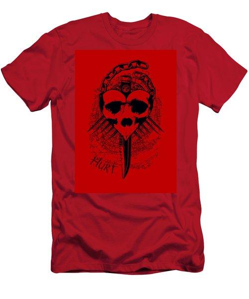 Hurt Men's T-Shirt (Slim Fit) by Tony Koehl