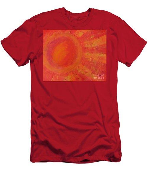 Joy In The Morning Men's T-Shirt (Slim Fit)