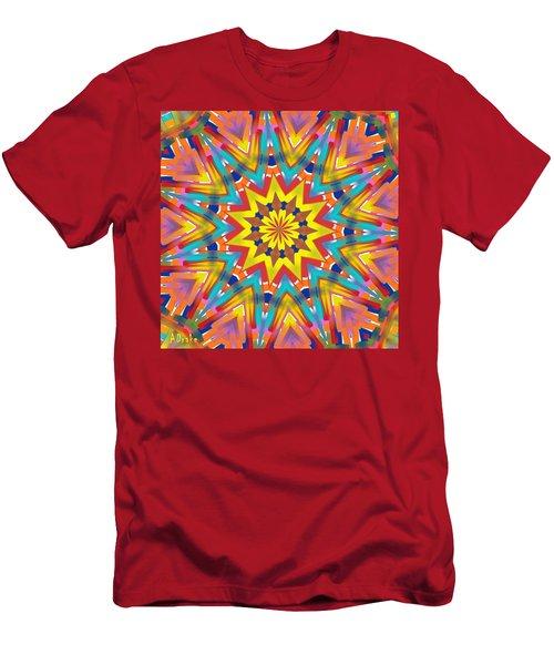 Kaleidoscope Series Number 7 Men's T-Shirt (Athletic Fit)