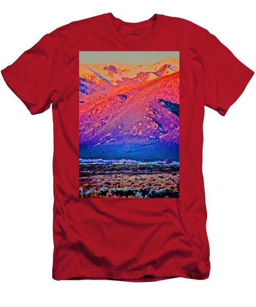 Mt Wheeler At Sunset Men's T-Shirt (Athletic Fit)
