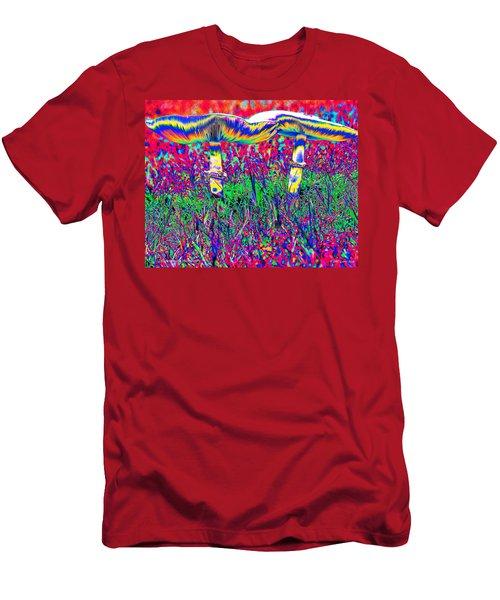 Mushrooms On Mushrooms Men's T-Shirt (Athletic Fit)