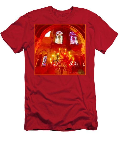 Notre Dame Cathedral - Paris France Men's T-Shirt (Athletic Fit)