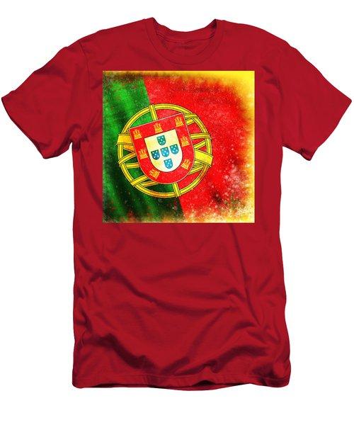 Portugal Flag  Men's T-Shirt (Athletic Fit)
