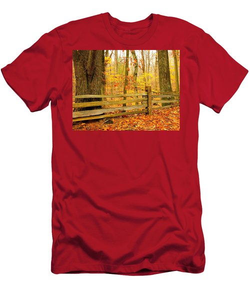 Post And Rail Men's T-Shirt (Athletic Fit)