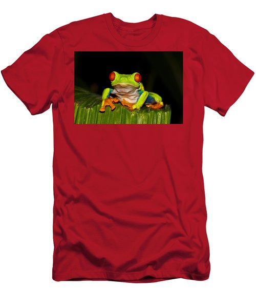 Red Eyes 1 Men's T-Shirt (Athletic Fit)