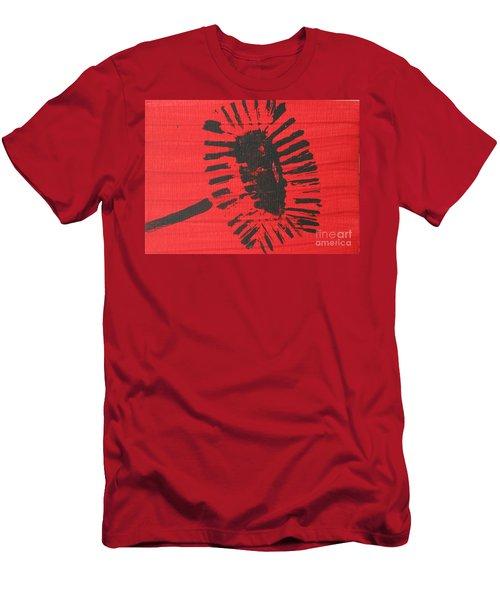 Red Men's T-Shirt (Slim Fit)