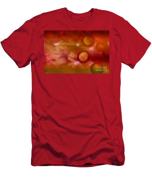 Red Pearl Dragon Fly Men's T-Shirt (Athletic Fit)