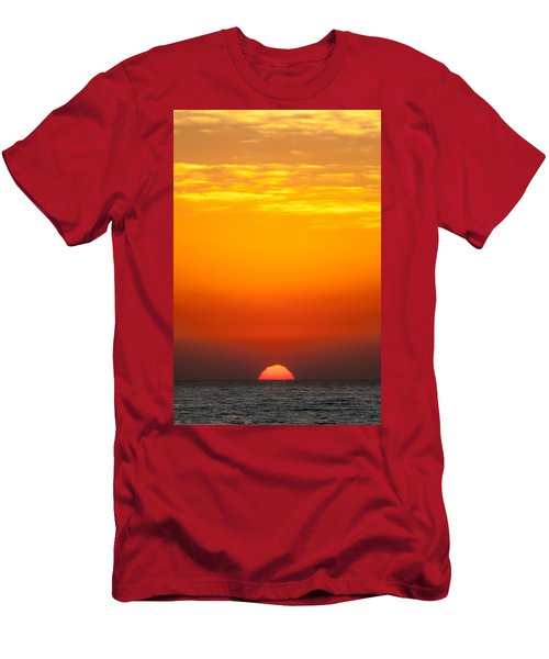 Sea Sunrise Men's T-Shirt (Athletic Fit)