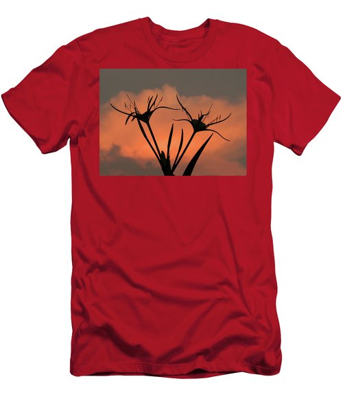 Spider Lilies At Sunset Men's T-Shirt (Athletic Fit)